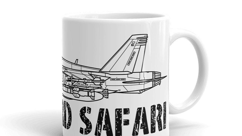 Boneyard Safari F-18F Coffee Mug
