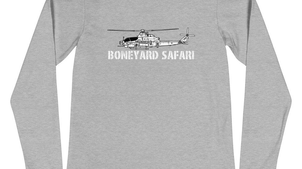 Boneyard Safari AH-1Z Unisex Long Sleeve Tee