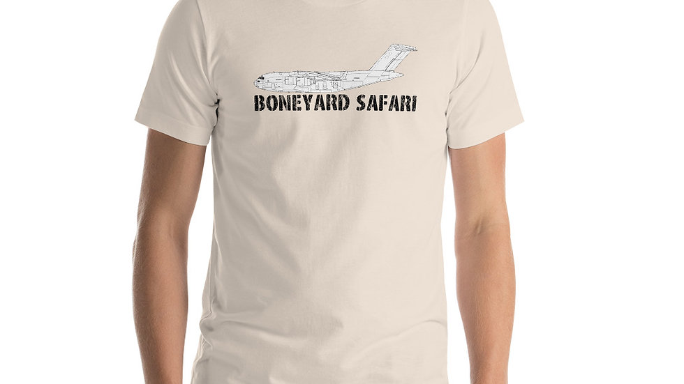 Boneyard Safari C-17 Short-Sleeve Unisex T-Shirt