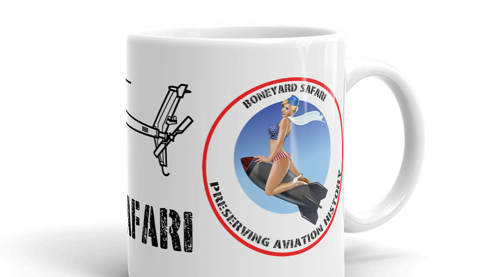 Boneyard Safari AH-6 coffee mug