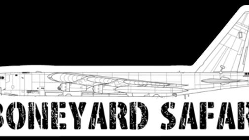 B-52D Boneyard Safari Illustration Sticker