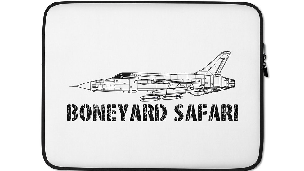 Boneyard Safari F-105D Laptop Sleeve