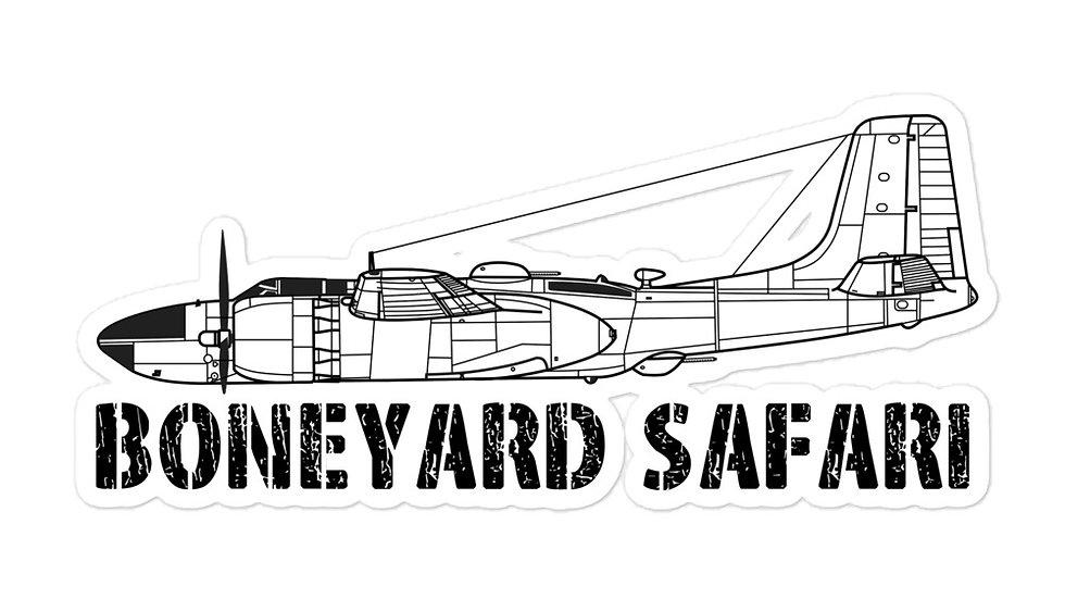 Boneyard Safari A-26 sticker