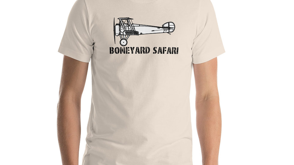 Boneyard Safari Sopwith Camel Short-Sleeve Unisex T-Shirt