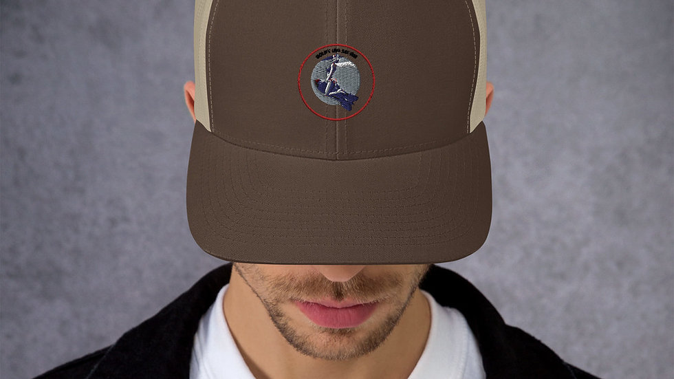 Boneyard Safari Logo Trucker Cap