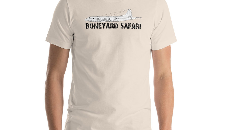 Boneyard Safari P-3 Short-Sleeve Unisex T-Shirt