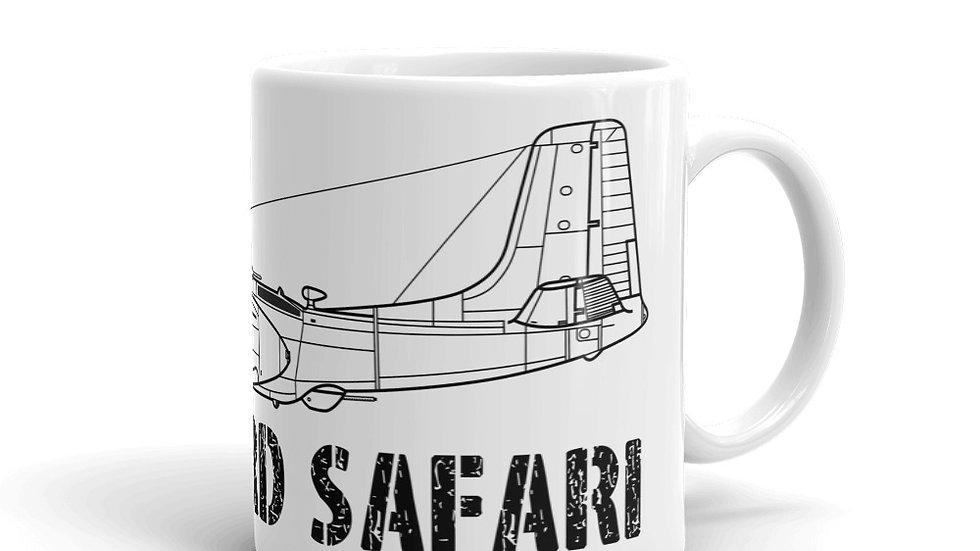 Boneyard Safari B-25H coffee mug