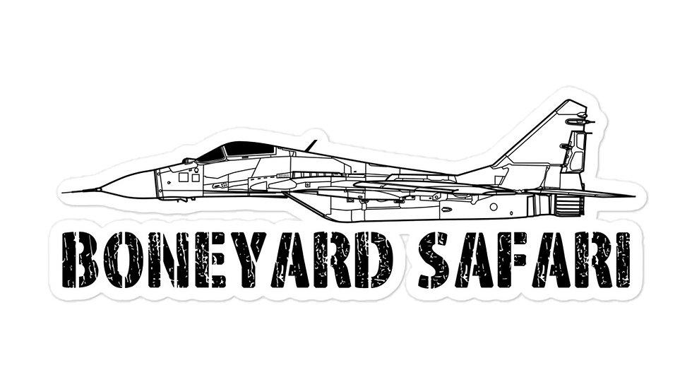 Boneyard Safari MiG-29 sticker