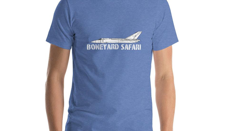 Boneyard Safari Avro Canada CF-105 ARROW Short-Sleeve Unisex T-Shirt