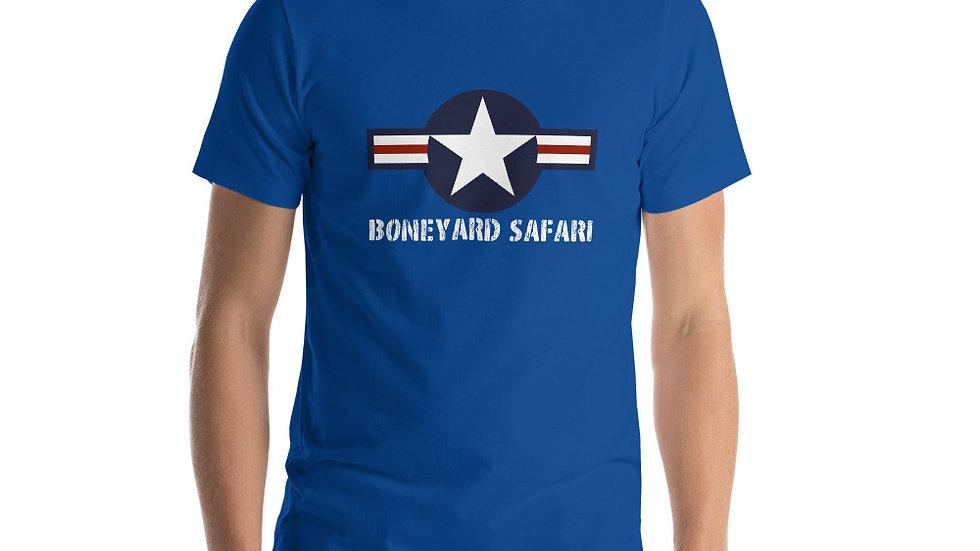 Boneyard Safari US Roundel Post WWII Short-Sleeve Unisex T-Shirt