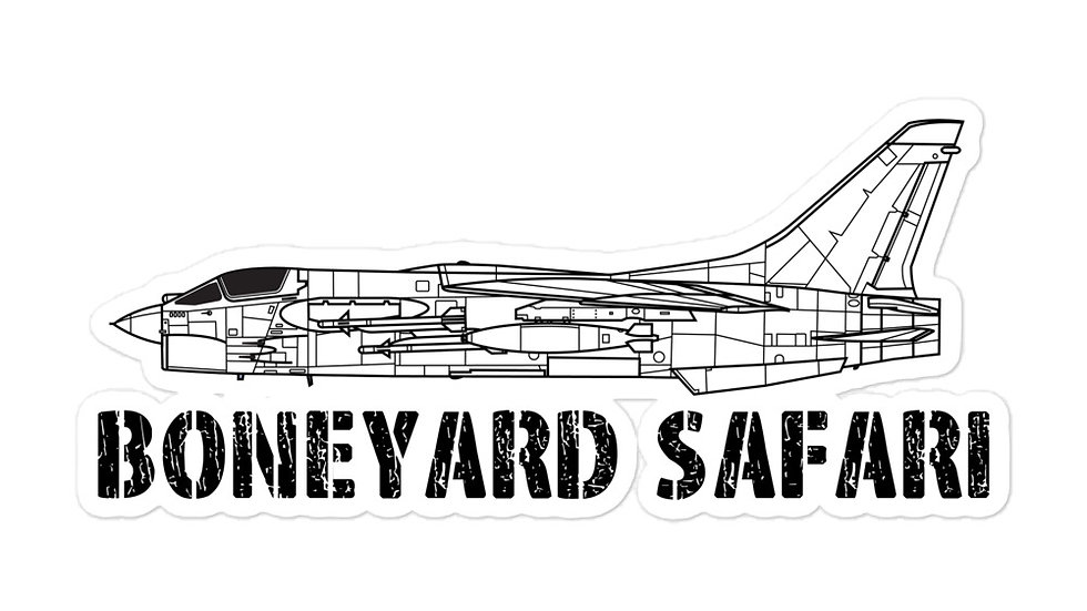 Boneyard Safari F-8 sticker
