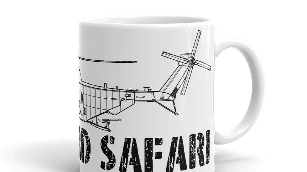 Boneyard Safari MH-53 Coffee Mug