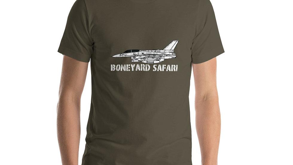 Boneyard Safari F-16I Short-Sleeve Unisex T-Shirt