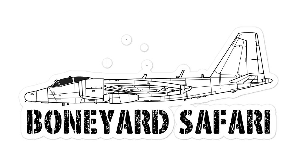 Boneyard Safari WB-57 Sticker