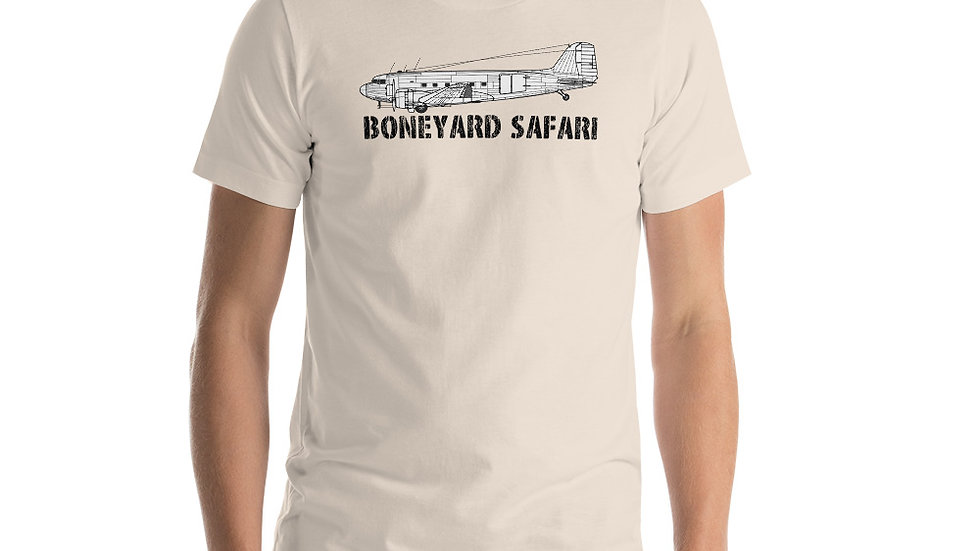 Boneyard Safari C-47 Short-Sleeve Unisex T-Shirt