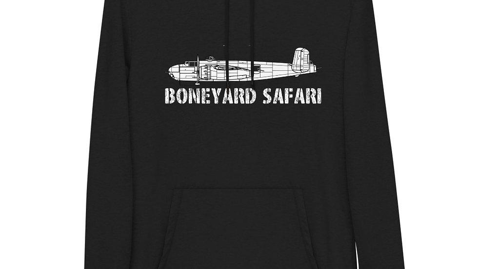 Boneyard Safari B-25H Unisex Lightweight Hoodie