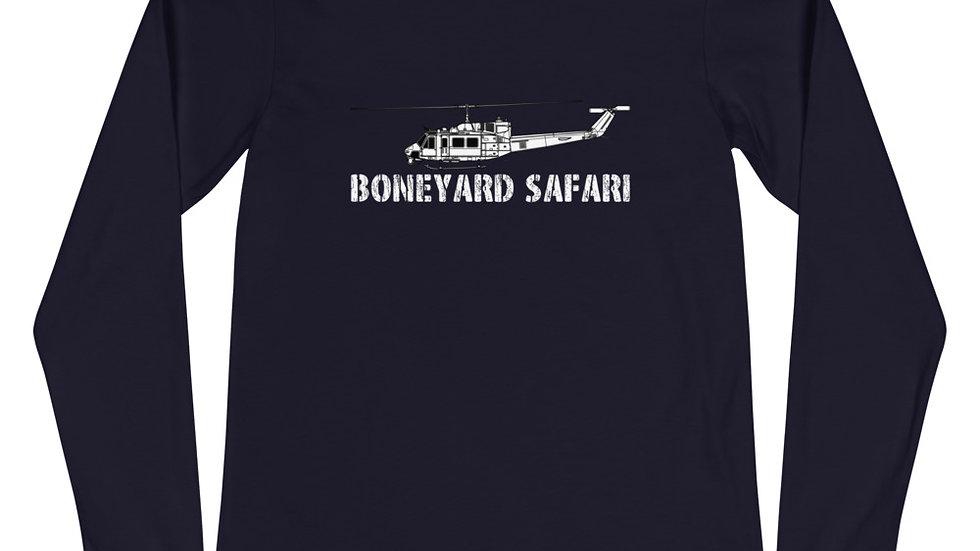 Boneyard Safari UH-1N Unisex Long Sleeve Tee