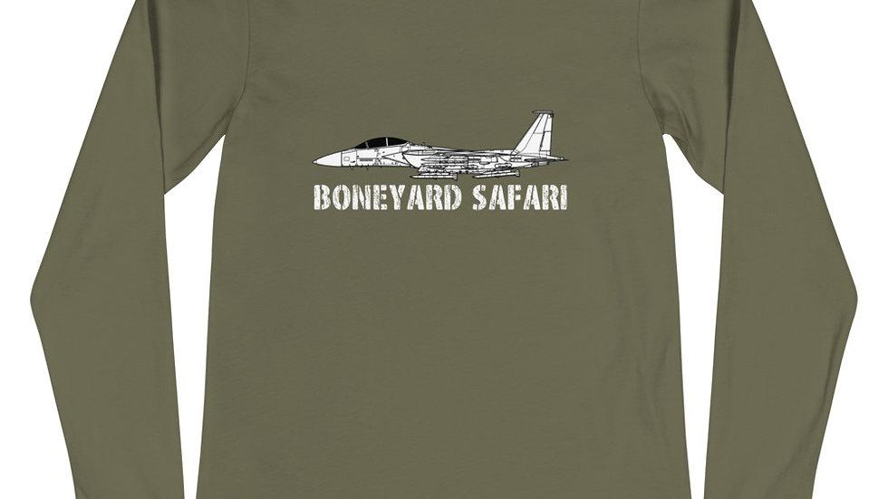 Boneyard Safari F-15EX Eagle II Unisex Long Sleeve Tee