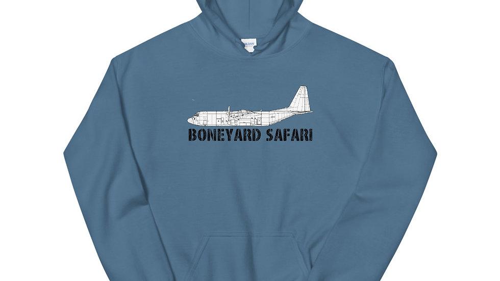 Boneyard Safari C-130J Unisex Hoodie