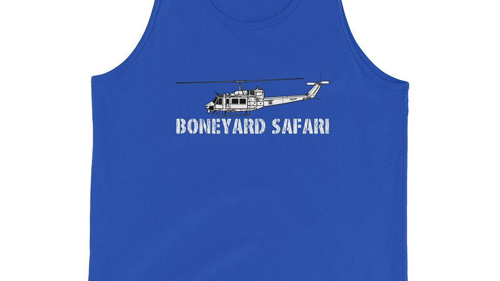 Boneyard Safari UH-1N Unisex Tank Top