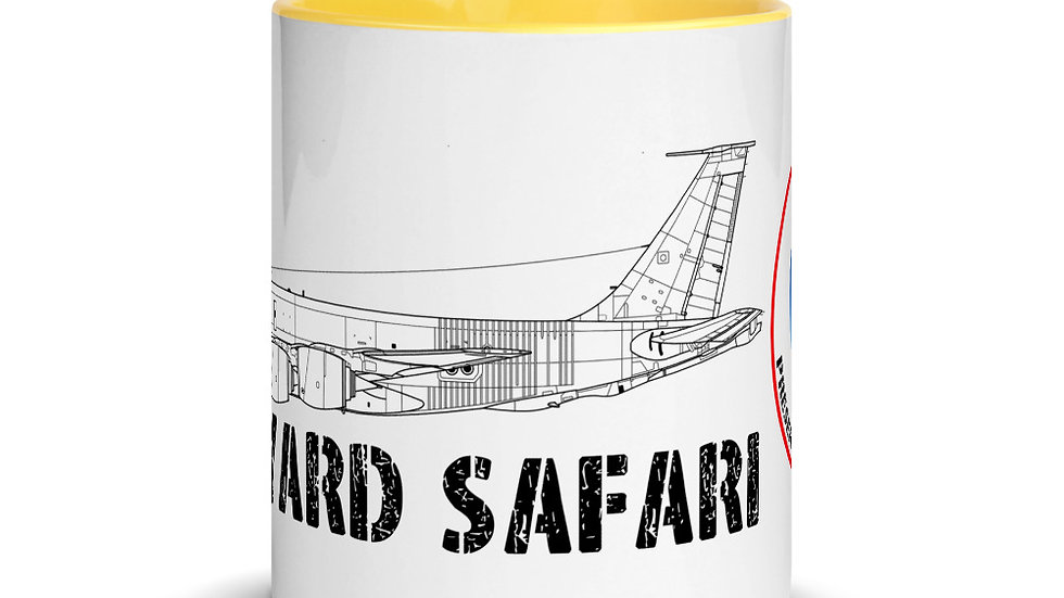 Boneyard Safari KC-135R Coffee Mug with Color Inside