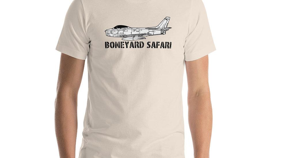 Boneyard Safari F-86 Short-Sleeve Unisex T-Shirt