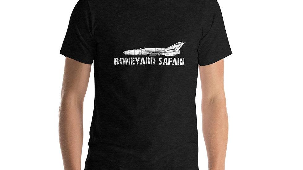 Boneyard Safari MiG-21 F-13 Short-Sleeve Unisex T-Shirt