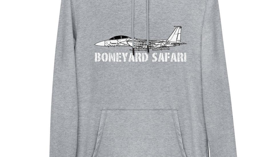 Boneyard Safari F-15EX Eagle II Unisex Lightweight Hoodie