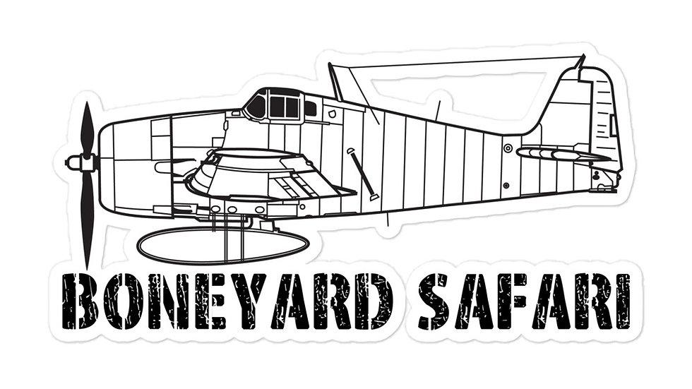 Boneyard Safari F6F sticker