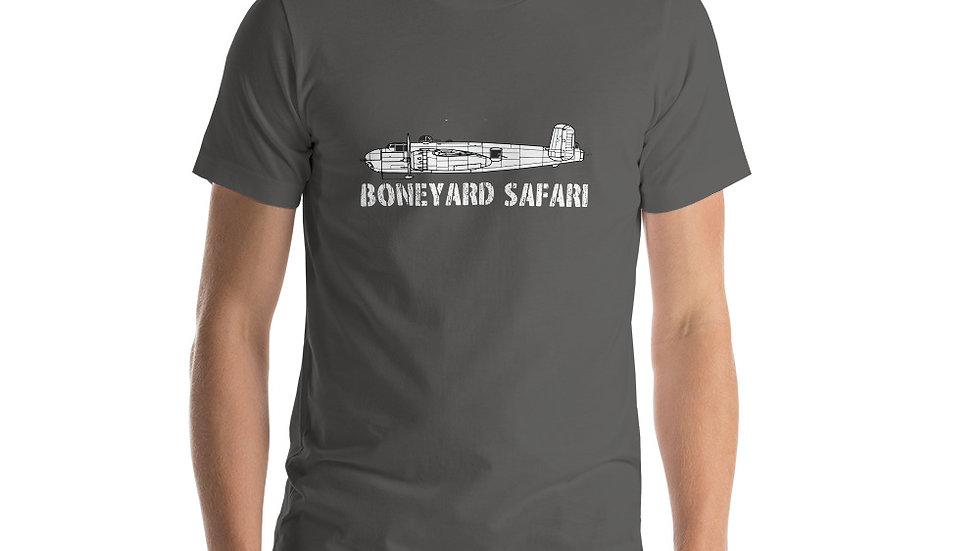Boneyard Safari B-25H Short-Sleeve Unisex T-Shirt