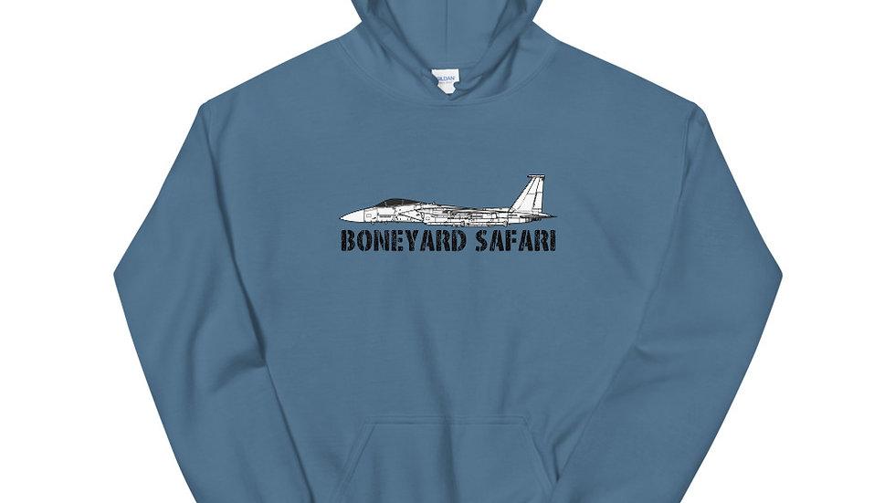 Boneyard Safari F-15C Unisex Hoodie