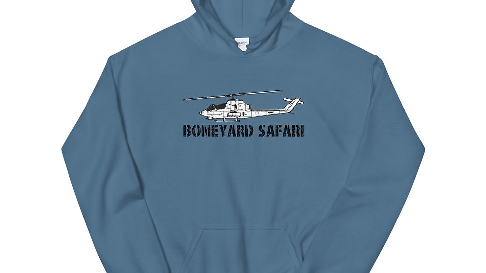 Boneyard Safari AH-1G Unisex Hoodie