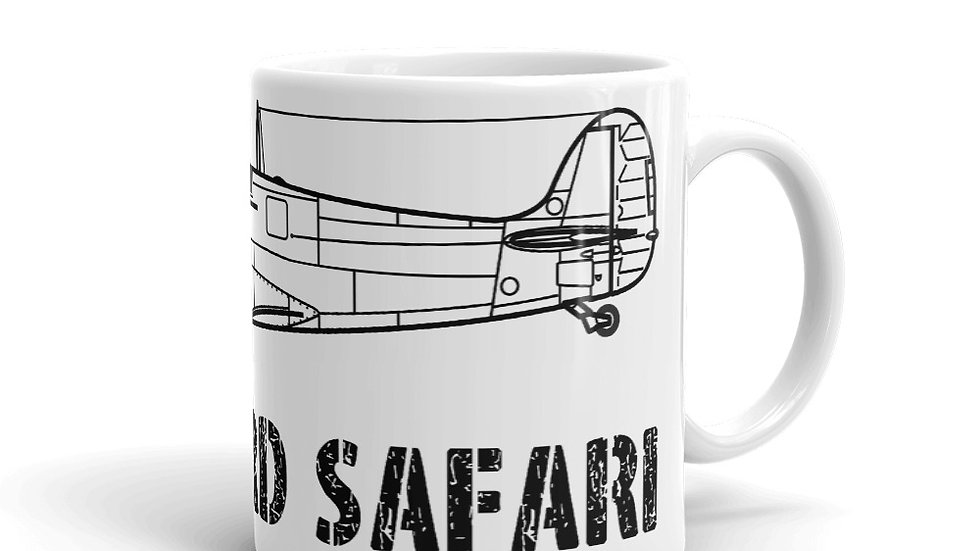 Boneyard Safari Spitfire Mark V Coffee Mug