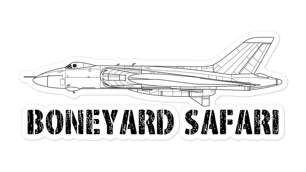 Boneyard Safari Vulcan sticker