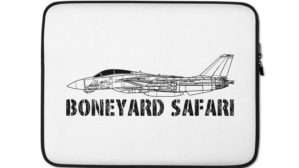 Boneyard Safari F-14 Laptop Sleeve