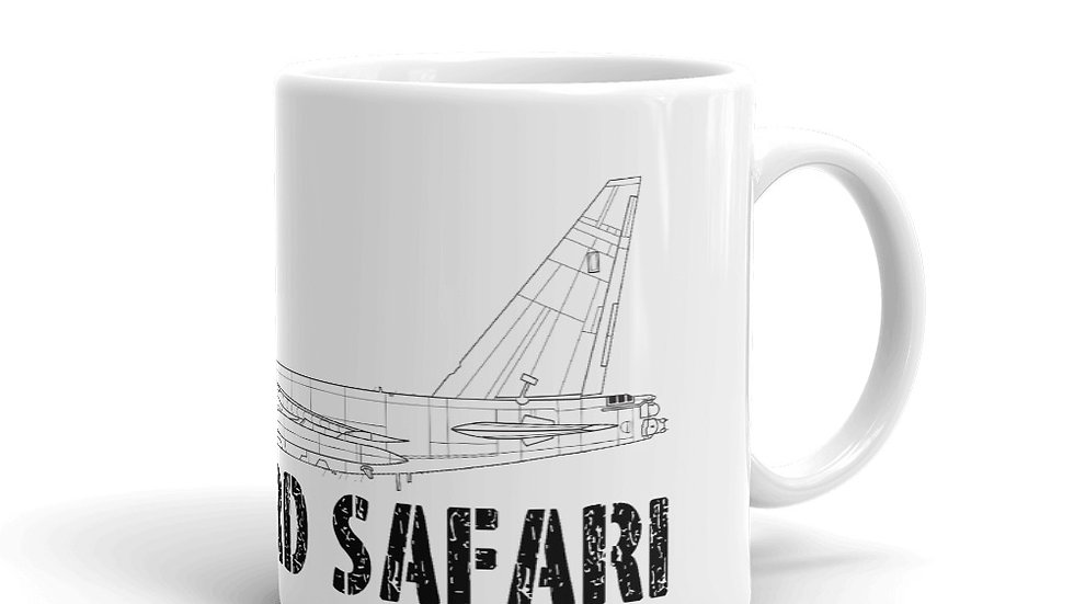 Boneyard Safari B-52D Coffee Mug