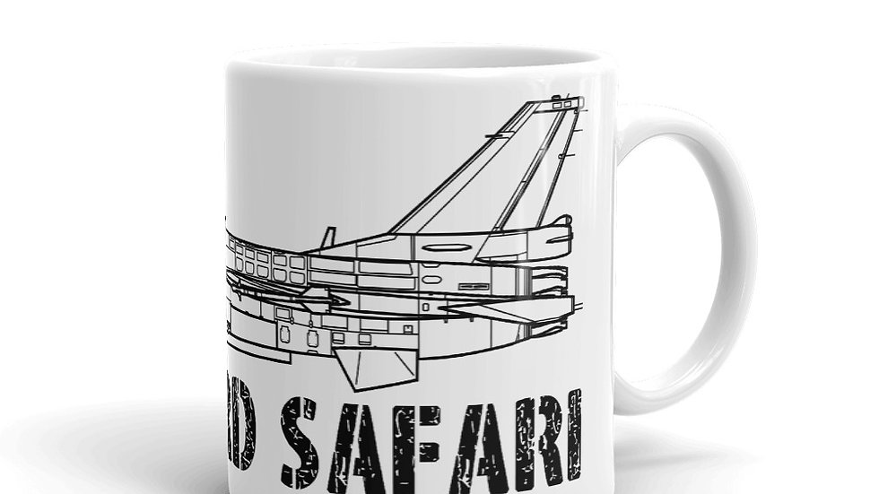 Boneyard Safari F-2A Coffee Mug