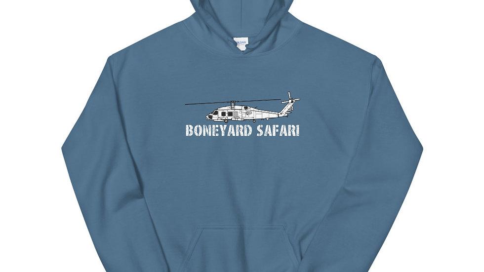 Boneyard Safari SH-60B Seahawk Unisex Hoodie