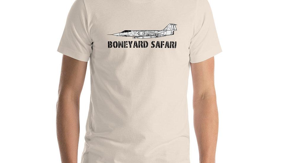 Boneyard Safari F-104 Short-Sleeve Unisex T-Shirt