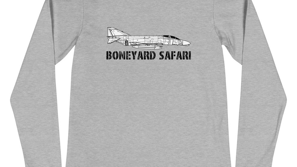 Boneyard Safari F-4C Unisex Long Sleeve Tee