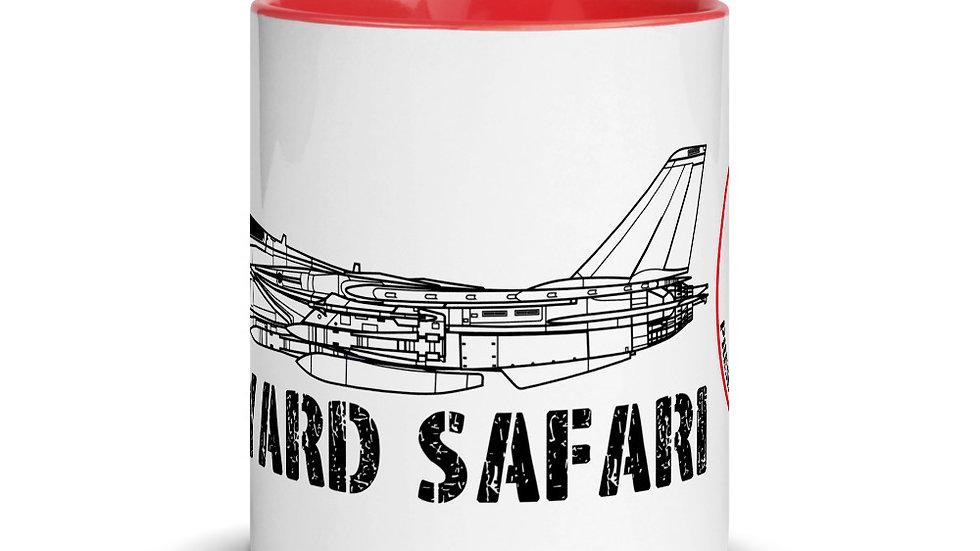 Boneyard Safari F-14D Mug with Color Inside