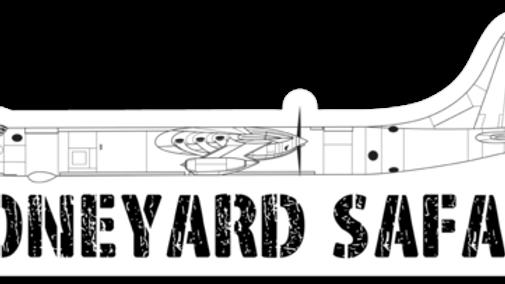 B-36J Boneyard Safari Illustration Sticker