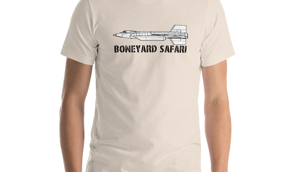 Boneyard Safari X-15 Short-Sleeve Unisex T-Shirt