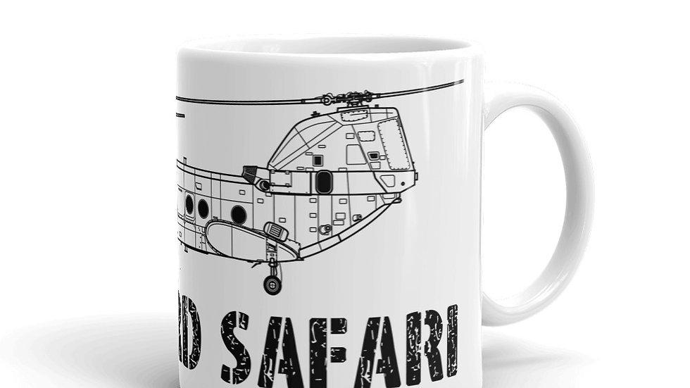Boneyard Safari CH-46 Coffee Mug