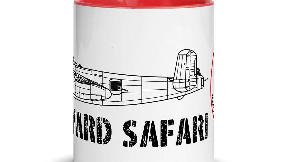Boneyard Safari B-25J Coffee Mug with Color Inside