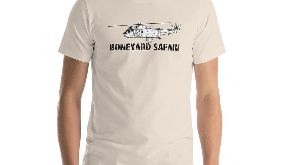 Boneyard Safari WS-61 Sea King Short-Sleeve Unisex T-Shirt