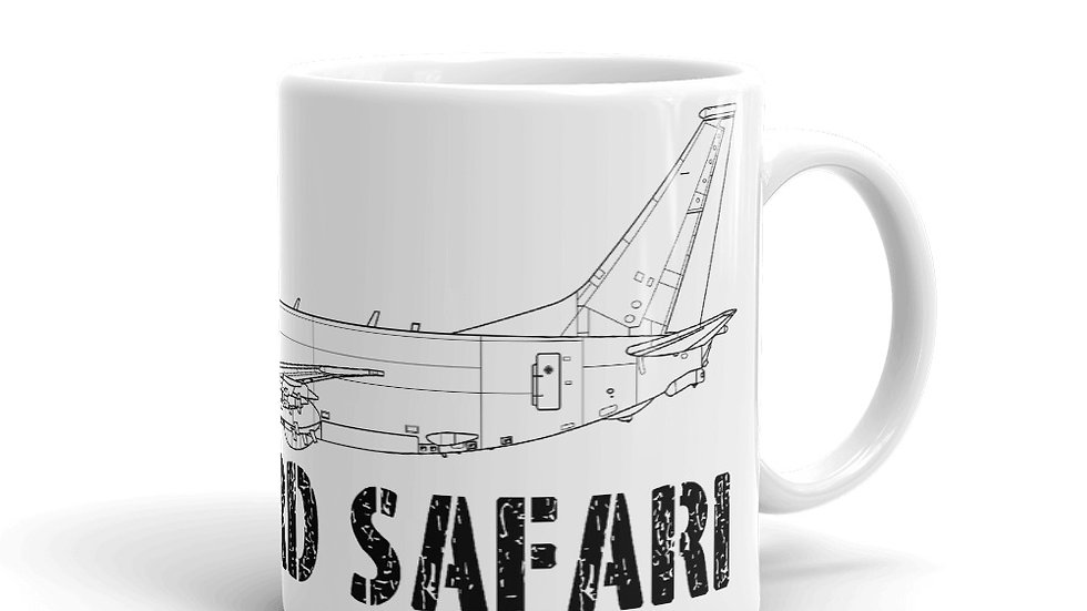 Boneyard Safari P-8 Coffee Mug