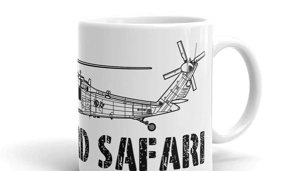 Boneyard Safari HH-60G coffee mug
