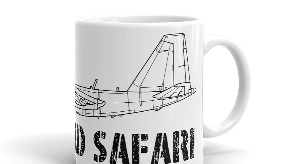 Boneyard Safari WB-57 Mug