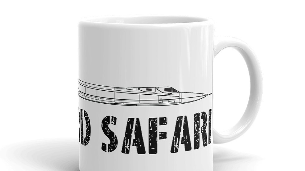 Boneyard Safari SR-71 Coffee Mug